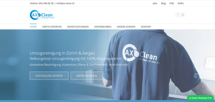 Reinigungsfirma Aargau