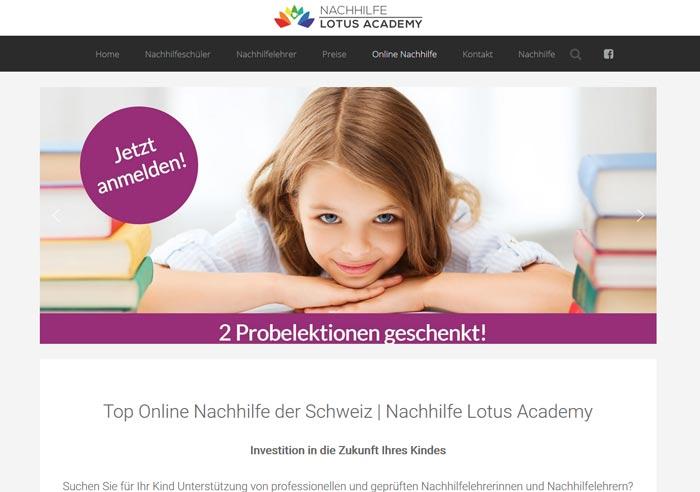 Online Nachhilfe Lotus Academy